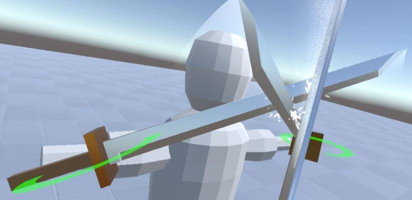 Sword Mechanics for VR – Evan Fletcher