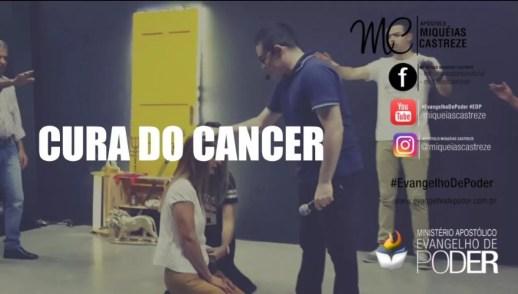CURA DO CÂNCER - TESTEMUNHO