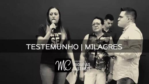 TESTEMUNHO DE MILAGRES CURA DE NÓDULOS NA MAMA