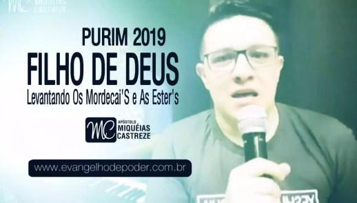 FILHO DE DEUS - Levantando Mardoqueu e Ester (PURIM 2019)   LIVE FACEBOOK
