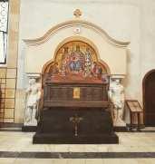 Inside Saint Mark church