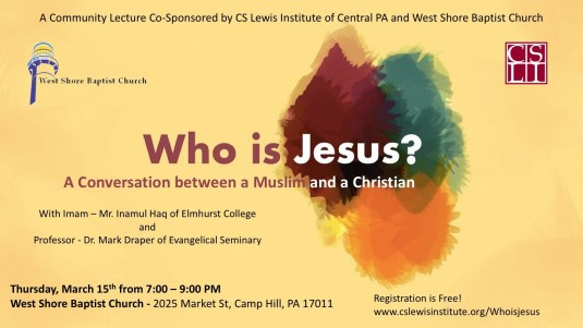 Who is Jesus? A Conversation between a Muslim and a Christian