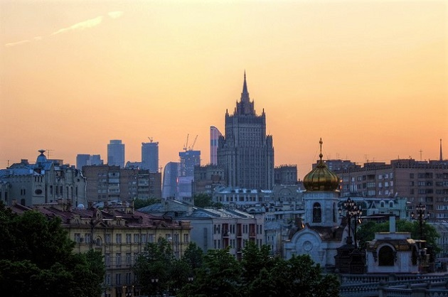 Uma vista de Moscovo, Rússia.   / Mariusz Lluzniak (Flickr, CC)