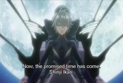 """[2.22] """"Agora, a hora prometida chegou, Shinji Ikari."""""""