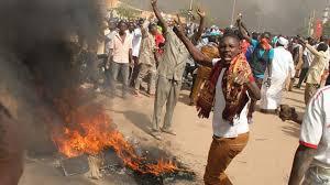 Niger manifestants