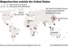 Mégachurches dans le monde