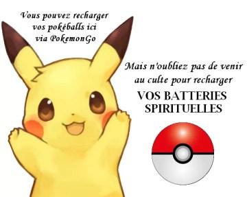 PokémonGo Églises