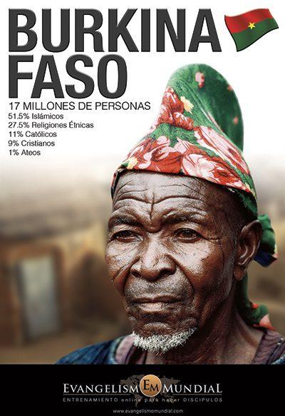 Imagen Evangelística de Burkina Faso (Gratis)