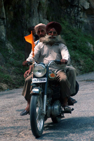 Motor bikes are in high demand and use in the Punjab. Photo Credit: prospectmagazine.co.uk