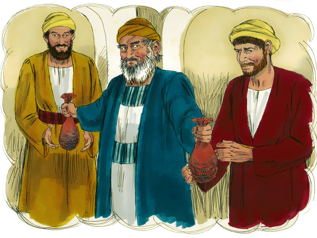 Parable Of The Two Sons A Man Had Two Sons And He Went