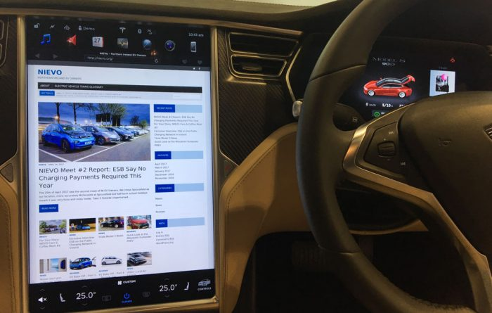 "Tesla 17"" Screen"
