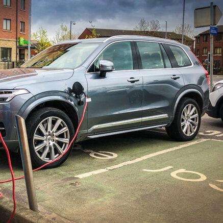 Volvo PHEV Charging in Belfast