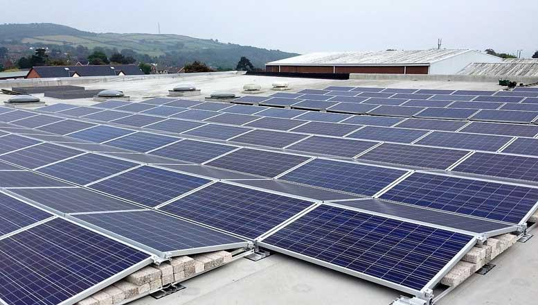 Harvey Group Solmatix Solar PV Array Belfast