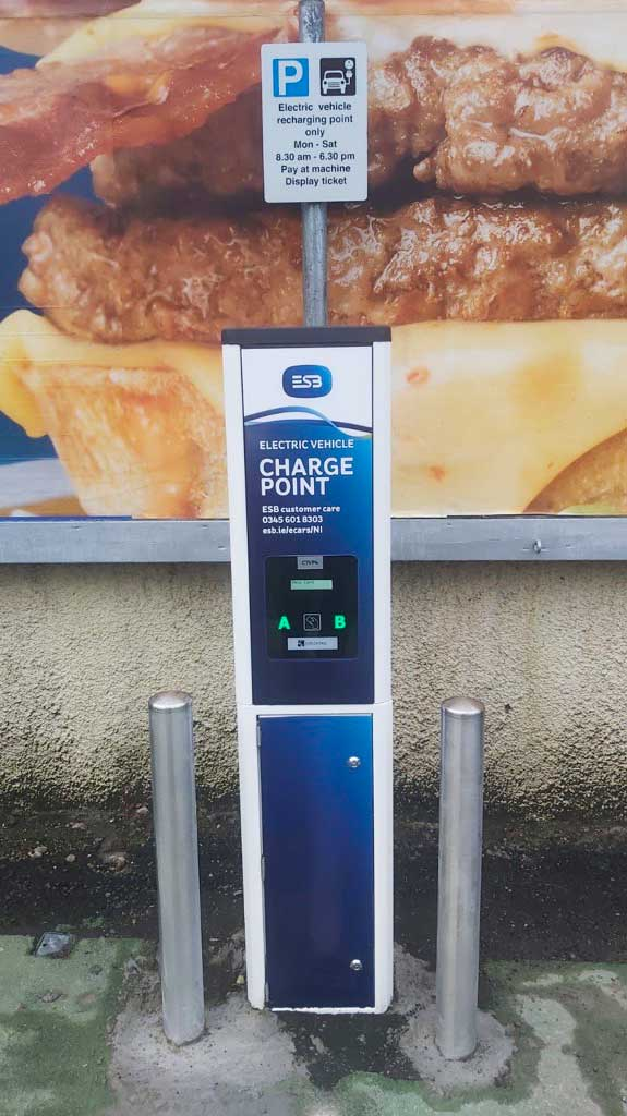 New ESB Charger in NI