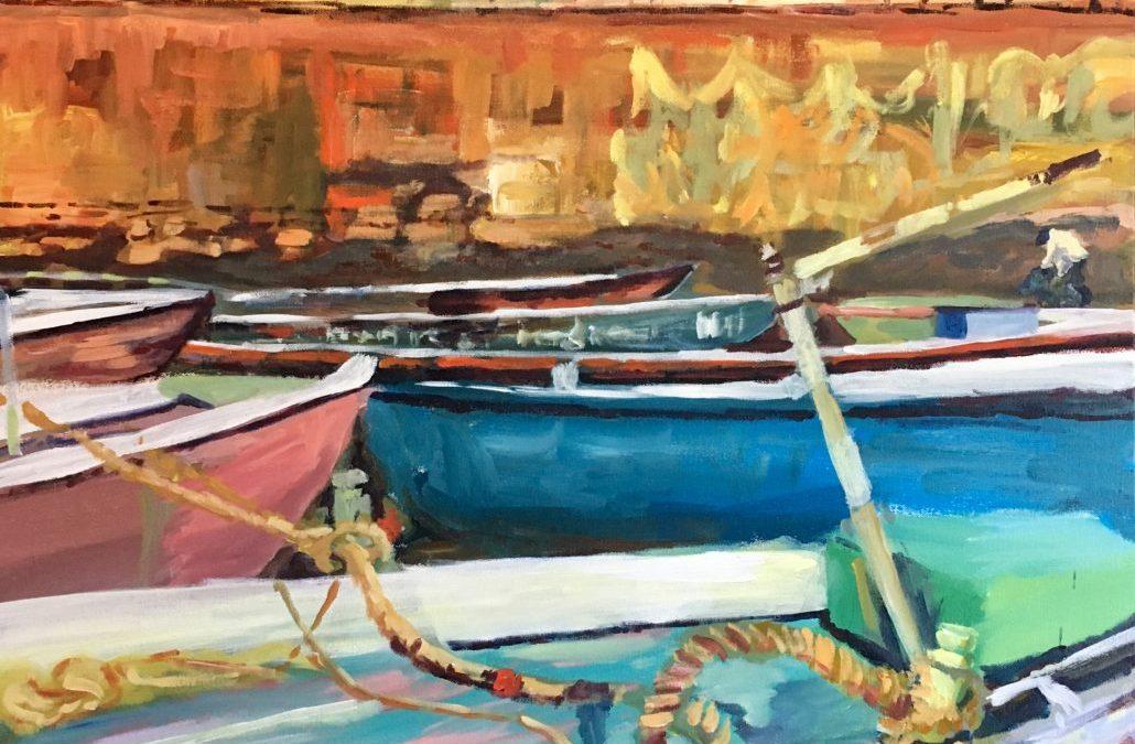New Paintings-in-Progress