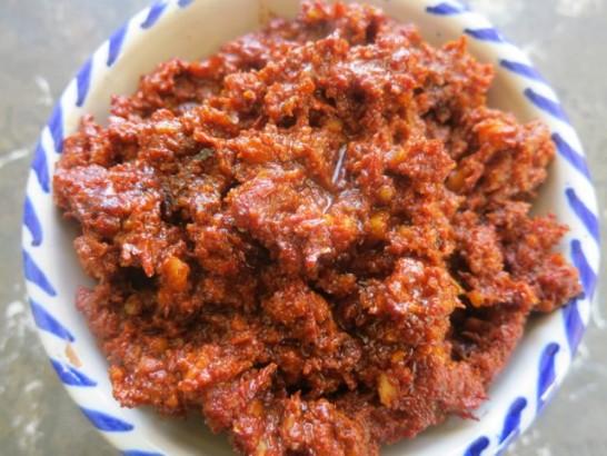 Romesco Sauce a la Goin