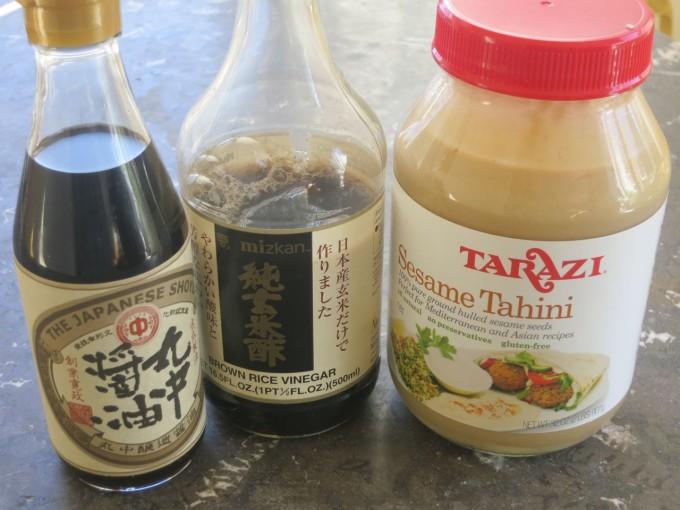 Japanese Sesame Dip Ingredients
