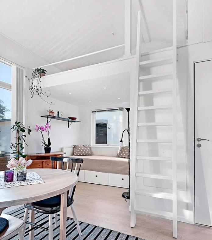 lite-svensk-hus-til-salgs-alkove