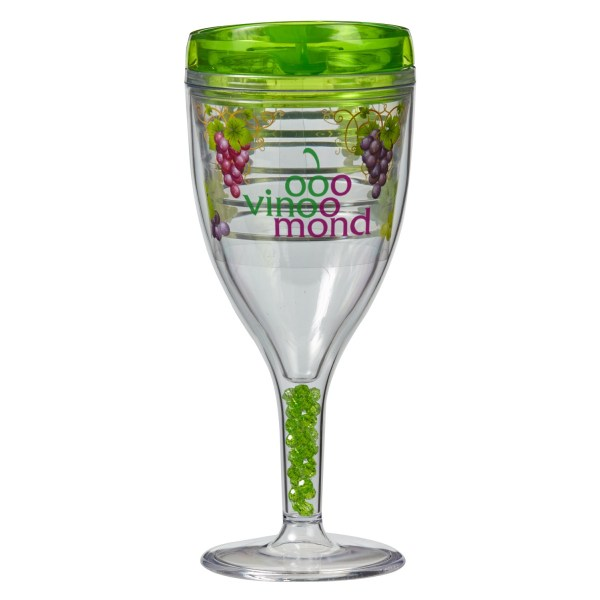 12 Oz. Double-wall Wine Glass Evans Manufacturing