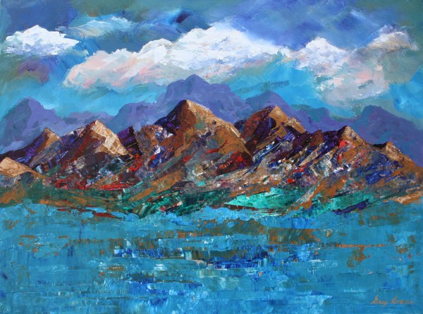 Landscape Art Paintings Of Greg Evans