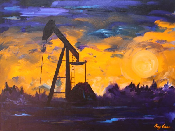 Texas Oil and Gas Art