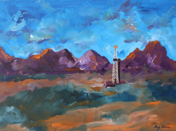 Oil And Gas Art Paintings Of Greg Evans