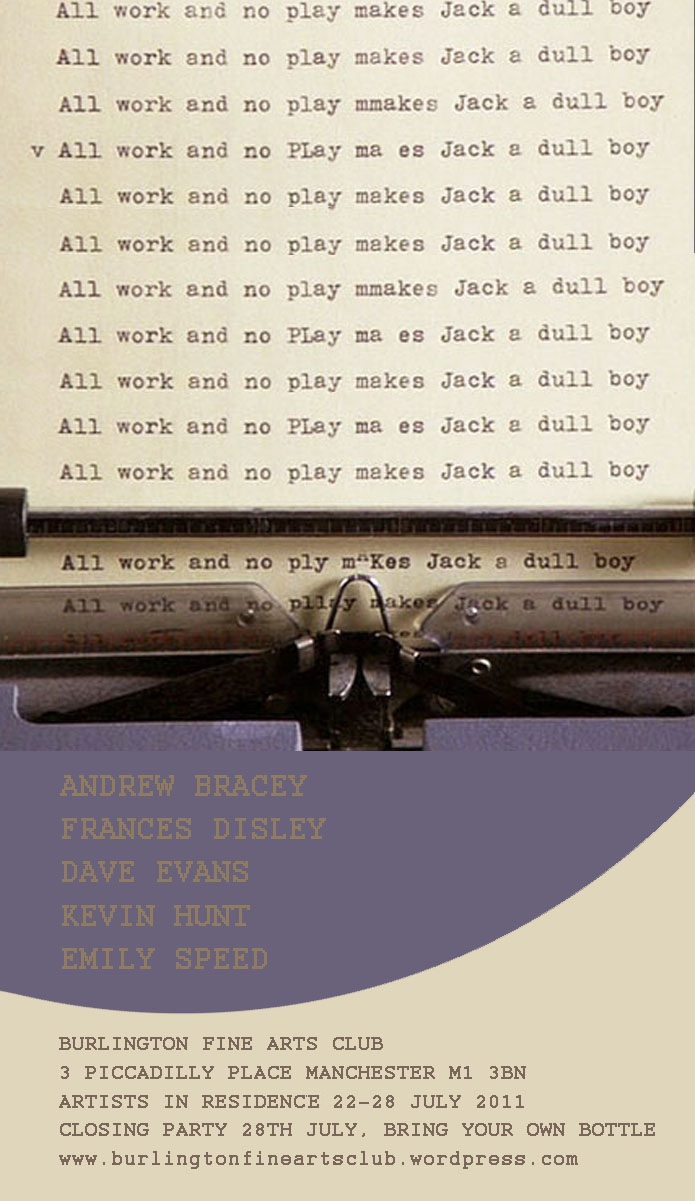 All Work And No Play Makes Jack A Dull Boy : makes, Makes, Burlington, Manchester, Evans