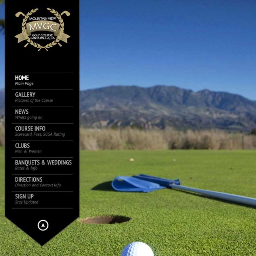 Website Design Johns Creek Golf Course