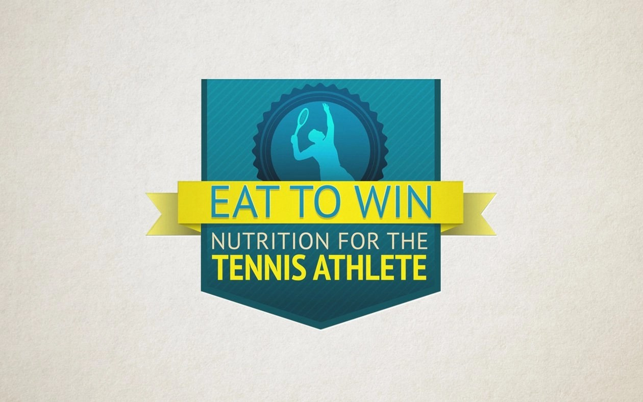 Eat to Win Tennis Nutrition Logo
