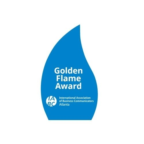 IABC Golden Flame Award Winner