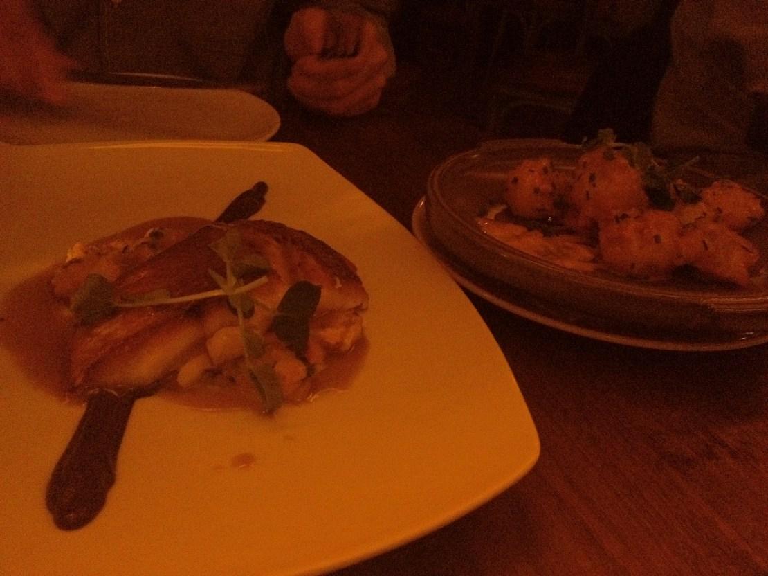 snapper and shrimp