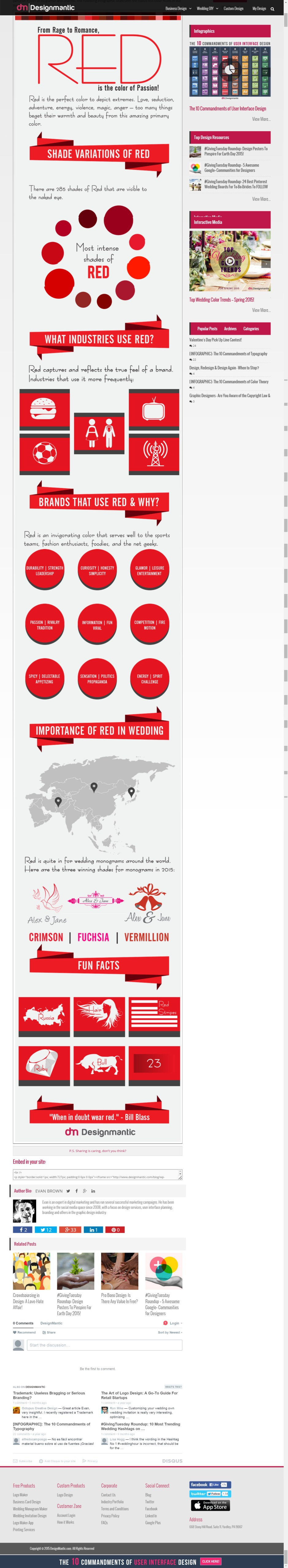 Looking to Generate Passion? Consider Using the Color Red