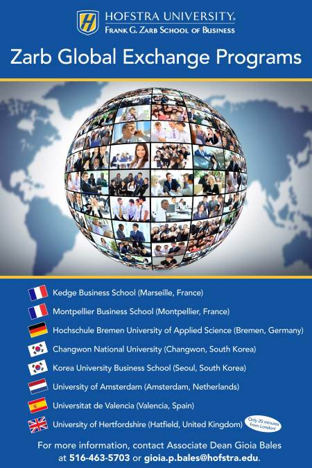 2016 Zarb Study Abroad Poster