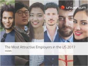 2017 Most Attractive U.S. Employers. Click to download the full U.S. report.