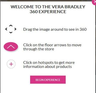 Virtual Reality Live at Vera Bradley Stores