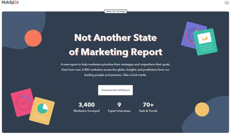 HubSpot 2020 State of Marketing Report