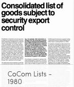CoCom 1980