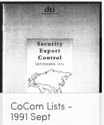 CoCom 1991 September