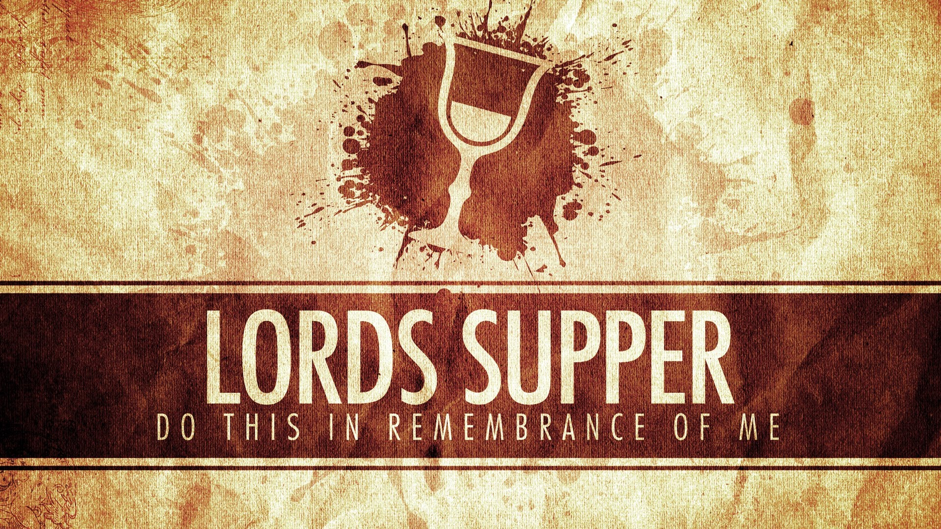 Table Manners At The Lord S Supper