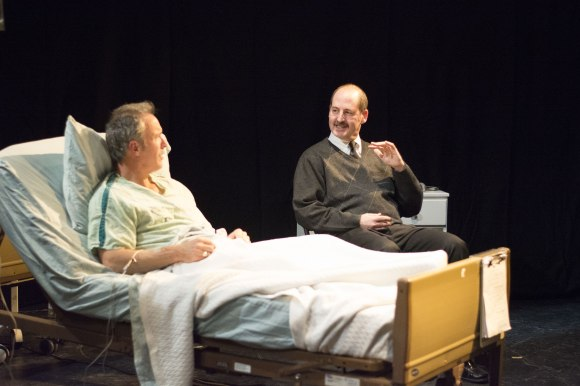 Chris Jonhson and Loren Seidner mesmerized audiences in the opening weekend of Talking with My Dad.