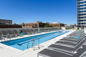 Ready for a swim? E2 has the lap pool for you, when summer comes.