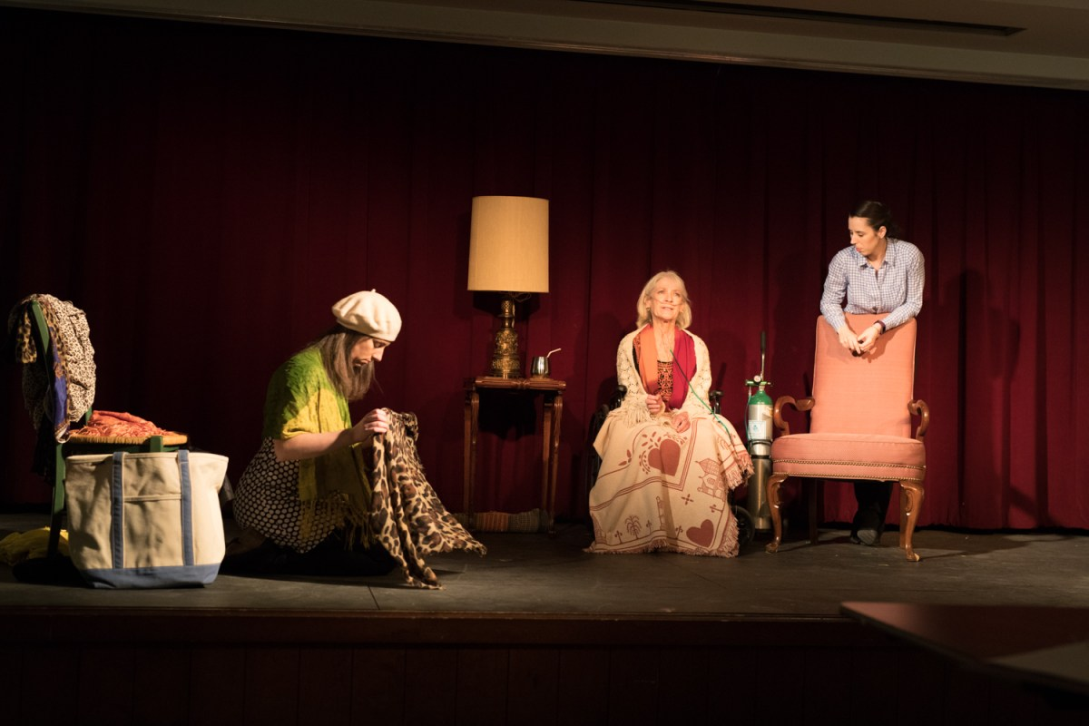 """A scene from """"Last Days of Wonder,"""" a winner of our 2016 script comeptition."""