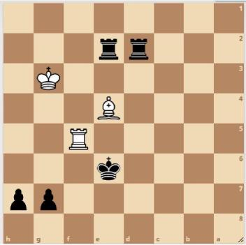 Chess board, position 2