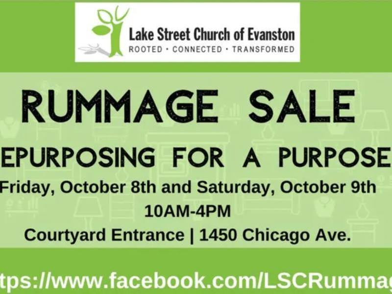 Lake Street Church rummage sale
