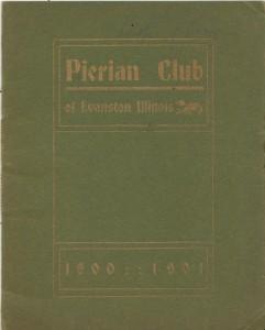 1900-1901 Member Booklet