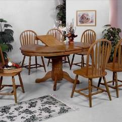 Oak Farmhouse Chairs Lumbar Pillow For Chair Dining Table And 4 Side Evansville Overstock Cm1052 Farmhouseoakdiningset