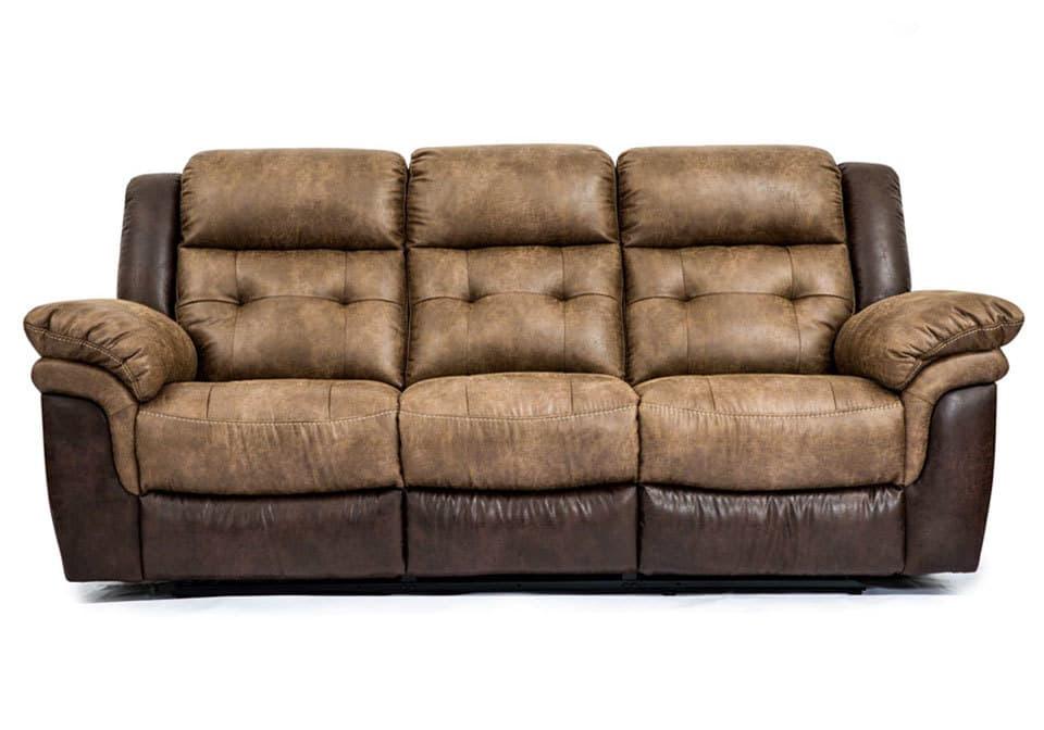Hudson Bonanza SiltBonanza Sable Reclining Sofa