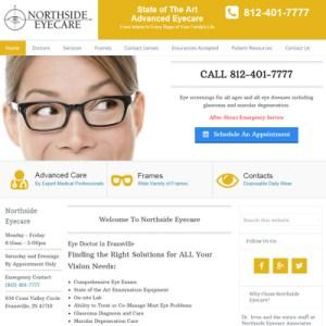 northside-eyecare-website