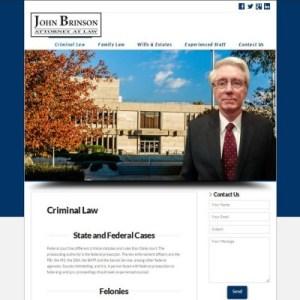 brinson-law-website