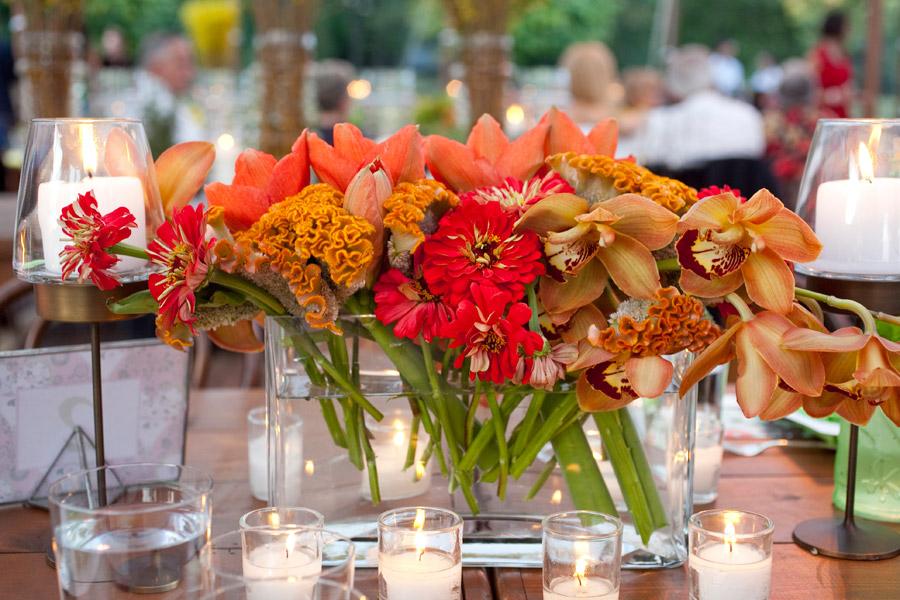 FLORAL NEWS GA: Orange Centerpieces For Weddings